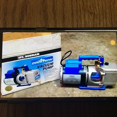 ROBINAIR COOLTECH VACUUM PUMP MODEL 15434 -Hardly Used