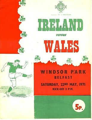 NORTHERN IRELAND v Wales (Home International) 1971