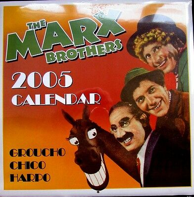 The Marx Brothers 2005 Calendar New * Factory Sealed