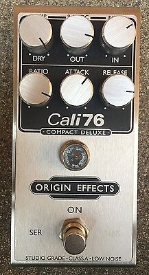 Origin Effects Cali76 Compact Deluxe Compressor Pedal with Box