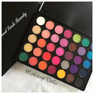 35B Color Glam DUPE 35 Colour Pigmented eyeshadow palette Best DUPE!