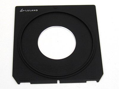 99x96mm Linhof 4x5 Lens Board (Choose Size #00, #0, #1, #3)