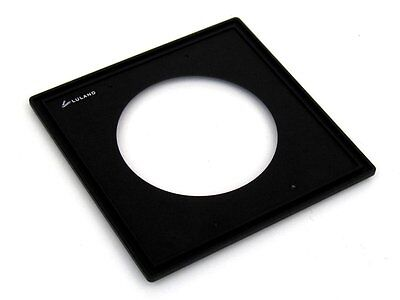158x158mm Toyo View Lens Board (Choose Size #00, #0, #1, #3)