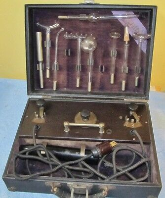Vintage RENULIFE Model R VIOLET RAY OZONE Therapy Quack Medical Device J831