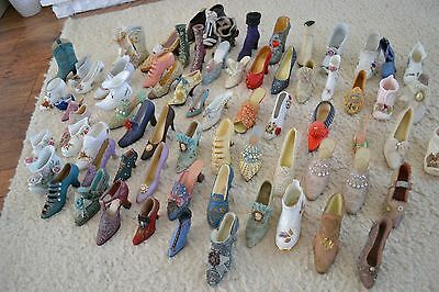 Porcelain shoe collection