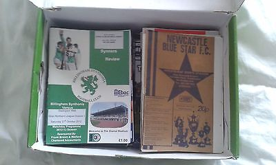 45 Northern League Football most 2010's+ Programmes (all listed)