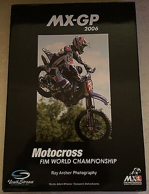 2006 MXGP MOTOCROSS GRAND PRIX YEARBOOK Farewell World Champion Stefan Everts