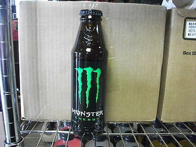 2 Monster Energy Glass Bottle 16.9 oz Discontinued Limited Edition Unopened NEW