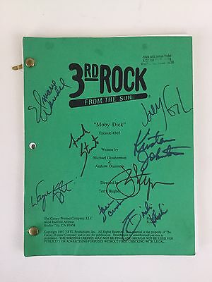 3rd Rock From The Sun Script Cast Autographed Signed Episode