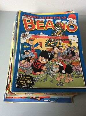 THE BEANO COMICS  -  41 Comics From The Year 2001