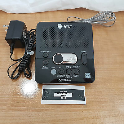 AT&T Digital Answering Machine~1740 60 Minutes Record Time and Time/Date *WOW*