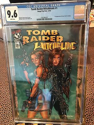 Tomb Raiders/Witchblade #1 CGC 9.6 white pages