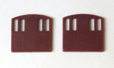2 x Triang internal end for TT gauge T72 BR guards brake van, TT scale spares