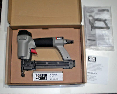 """Porter Cable Model Ns100A 1/4"""" Narrow Crown Pneumatic Air Stapler  New In Box"""