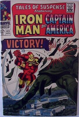 Tales of Suspense #83 (1966)  Iron Man and Captain America