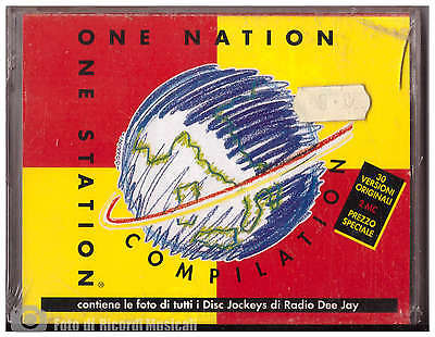ONE NATION ONE STATION COMPILATION MC DOPPIA **SIGILLATA** RADIO DEEJAY con CARD