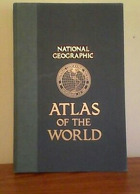 1981 National Geographic Atlas Of The World