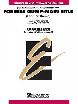 Forrest Gump Main Title Essential Elements String Performer NEW 000864001