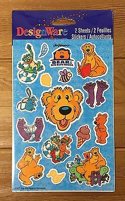 Vintage Bear In The Big Blue House Stickers Multiple Available!! Mint!!!