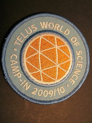 Boy Scouts Canada Camp-In 2009/10 Telus World Of Science Vancouver B.c. Cubs