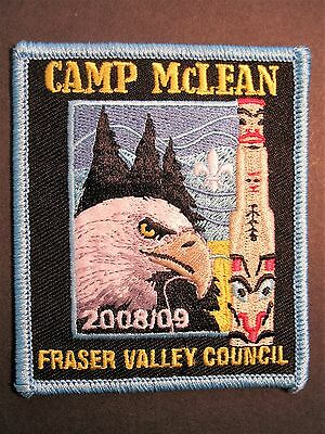 Boy Scouts Canada Camp Mclean Fraser Valley Council 2008 2009 Eagle Totem Cubs