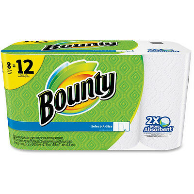 Bounty Select-a-size Paper Towels - 2 Ply - 95 Sheets/roll - 8/Pack