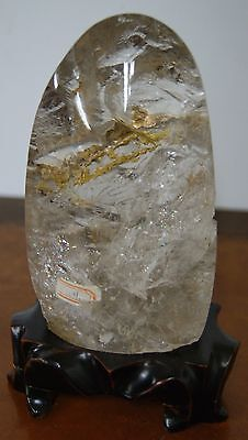 Chinese Rock Crystal Scholar's Stone