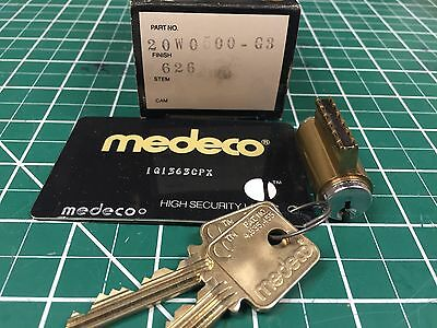 Medeco Cylinder with Card and keys / Locksmith / High security / G3