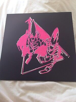 UNKLE Worship TOUR ONLY 12 inch vinyl, GLITTER SLEEVE James Lavelle