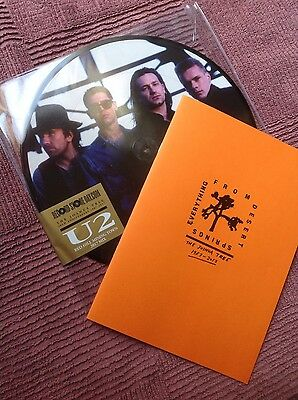 """U2 - RED HILL MINING TOWN 12"""" PICTURE DISC 2017 MIX plus FANZINE RSD  exclusive"""