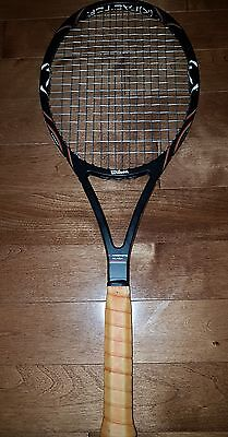 Wilson K Factor Pro Staff 88 Pete Sampras 4 1/2 LEATHER grip Tennis Racquet