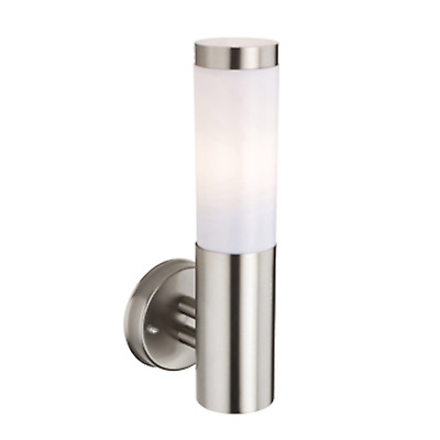 2 X  Modern Stainless Steel Outdoor House Garden wall lights
