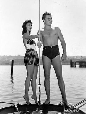 Robert Preston  for Male Beefcake Collectors with Mary Martin   8x10 Photo