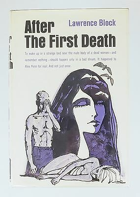 Lawrence Block, After the First Death, 1969, Hardcover, 1st Edition in jacket