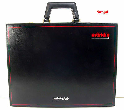 Z Scale Z Gauge Marklin Sales Representative Amiet Z demonstration briefcase
