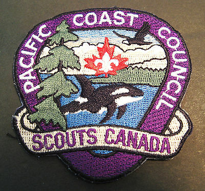 Boy Scouts Canada  Pacific Coast Council British Columbia  Embroidered Patch