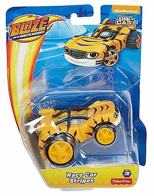 Blaze and the Monster Machines Diecast Vehicle - Race Car Stripes *BRAND NEW*