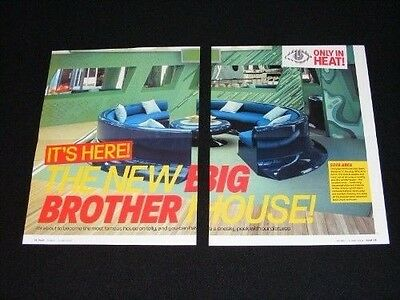 BIG BROTHER UK magazine clippings lot No1