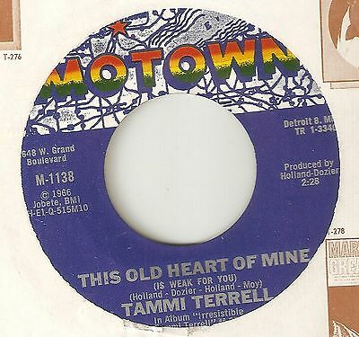 TAMMI TERRELL This Old Heart Of Mine  MOTOWN NORTHERN SOUL 45