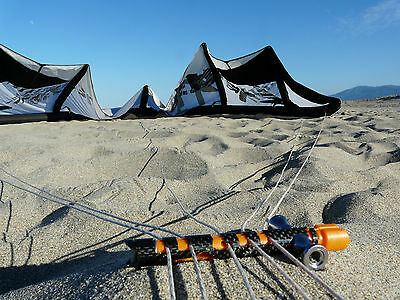 Kite Cleat - Kitesurf - Snowkite - Landkite Accessory - KSV - Carbone Version