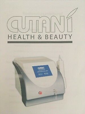 Cutani Q-switched ND YAG Laser Tattoo Entfernung Tattooentfernung neuwertig