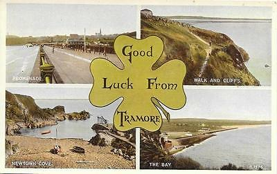 Ireland 1950s Tramore County Waterford Unused Multiview Postcard R1576