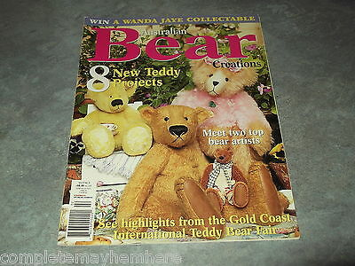 Australian Bear Creations Vol 9 No. 3 making, projects