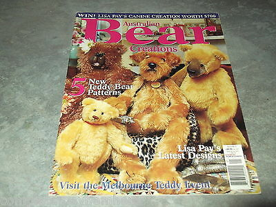 Australian Bear Creations Vol 8 No. 2 Clothes Making