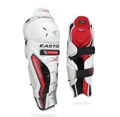 Easton Synergy 850 Ice Hockey Shin Guards Size Senior Hokejam.lv