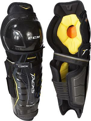CCM Tacks 6052 Ice Hockey Shin Guards Size Senior Hokejam.lv