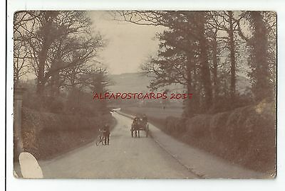 Warks? Bearwood Area Birmingham ? 1910 Real Photo Vintage Postcard