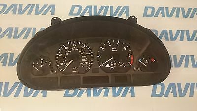 Bmw 3 Series E46 2.5 Petrol Speedometer Instrument Cluster 6902367 / 0263606246