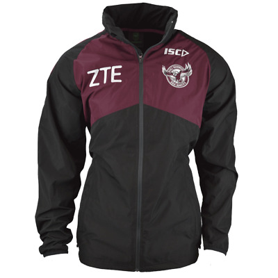 Manly Sea Eagles NRL Players ISC Wet Weather Jacket Size Small ONLY!7