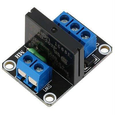 1 Channel 5V OMRON SSR G3MB-202P Solid State Relay Module W/Resistive Fuse RK